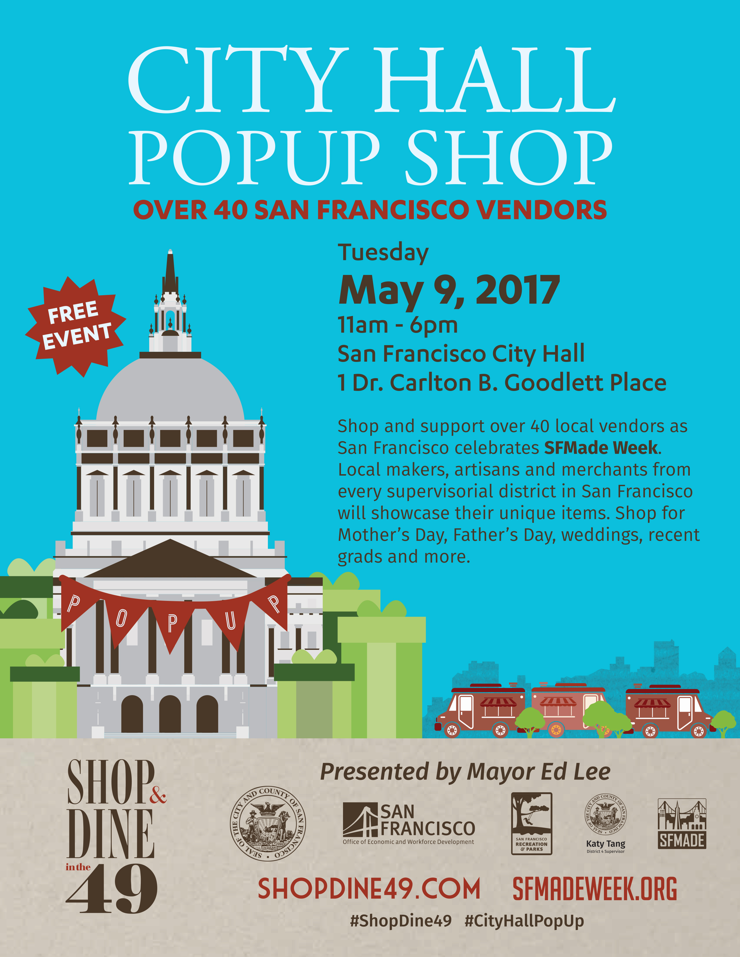 City Hall Popup Flyer
