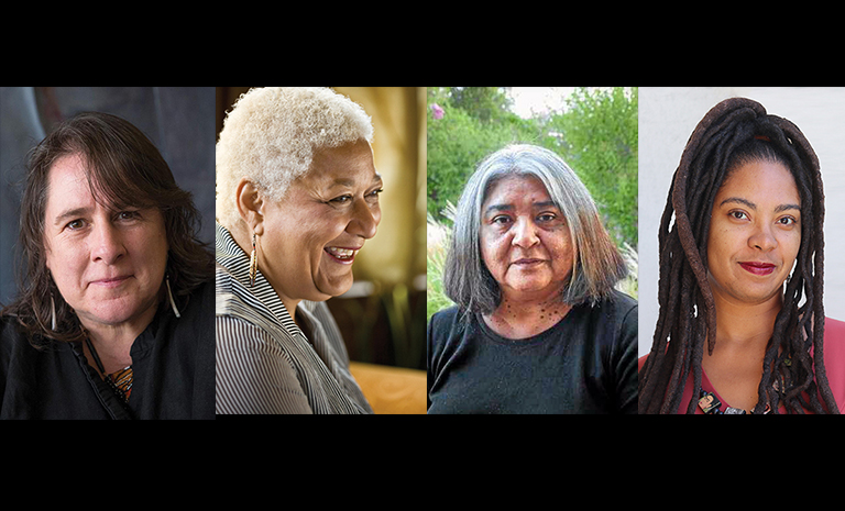 image of four women authors.