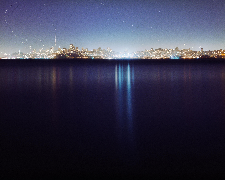 Christina Seely,Lux: Metropolis 37° 46'N122°26'W(San Francisco), 2005-2010. Archival inkjet print