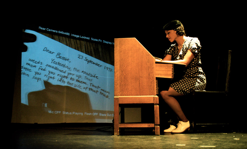 Image courtesy of Queer Rebels featuring Carrie Leilam Love. Photo: Epli
