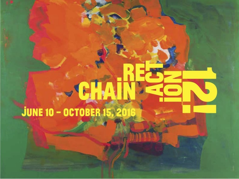 Chain Reaction Group Exhibition announcement