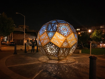Hayes Valley Temporary Light Sculpture