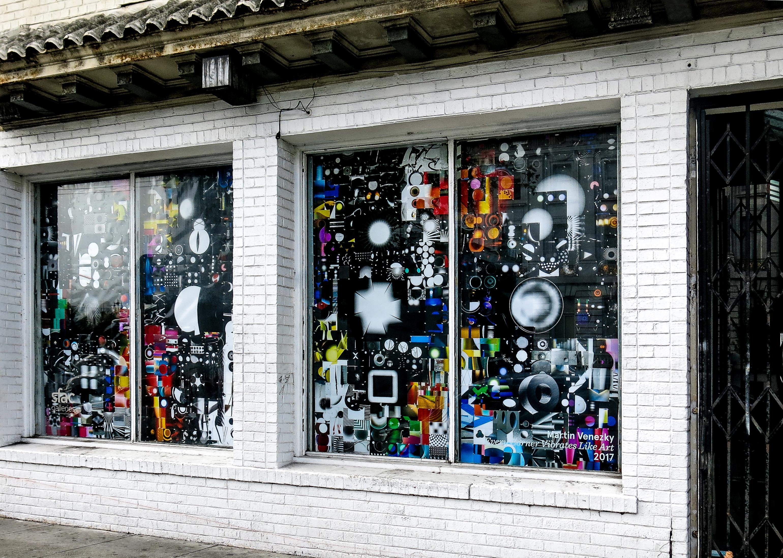 Martin Venezky, Every Corner Vibrates Like Art , 2017